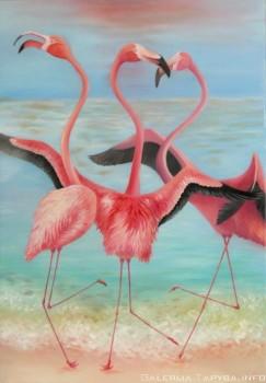 Flamingų šokis