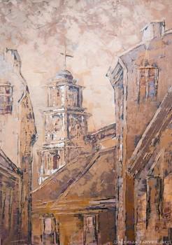 Vilnius. Visų šventųjų bažnyčia