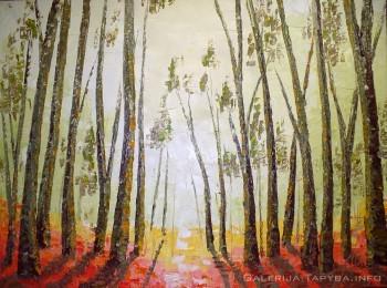 Paslaptingas miškas VI