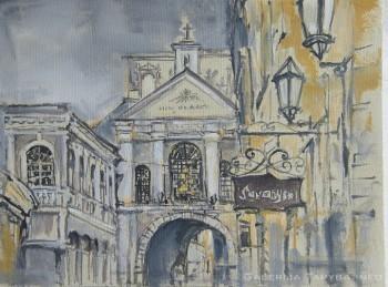 Livijos paveikslas su Aušros vartais