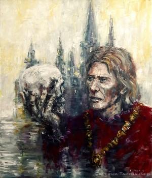 Hamleto paveikslas pardavimui ant drobės